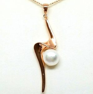 925 SS Pearl Pendant